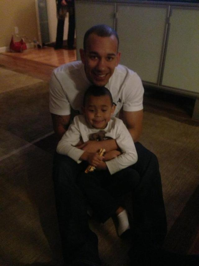 Anthony & Uncle Lance