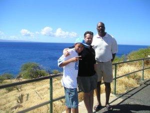 Lance, Chuck, Ronnie in Maui