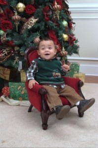 Duckworth Christmas Past: grandson, Anthony